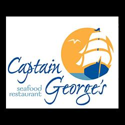 restaurant consultant client, Captain Georges Seafood logo