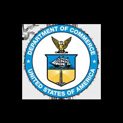 restaurant consultant client, department of commerce logo