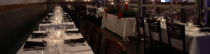 Restaurant Consulting Client Photo of elegantly set dining tables